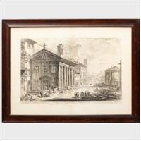 Veduta del Tempio della Fortuna virile..., from...